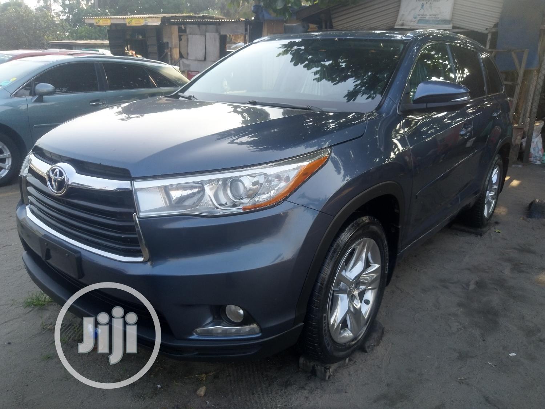 Toyota Highlander 2015 Gray   Cars for sale in Apapa, Lagos State, Nigeria