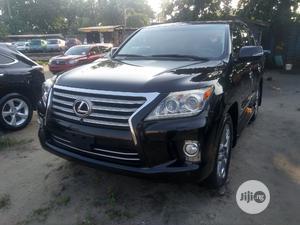 Lexus LX 2014 570 Base Black | Cars for sale in Lagos State, Apapa
