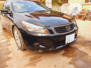 Honda Accord 2008 3.5 EX Automatic Black   Cars for sale in Ogun State, Abeokuta South