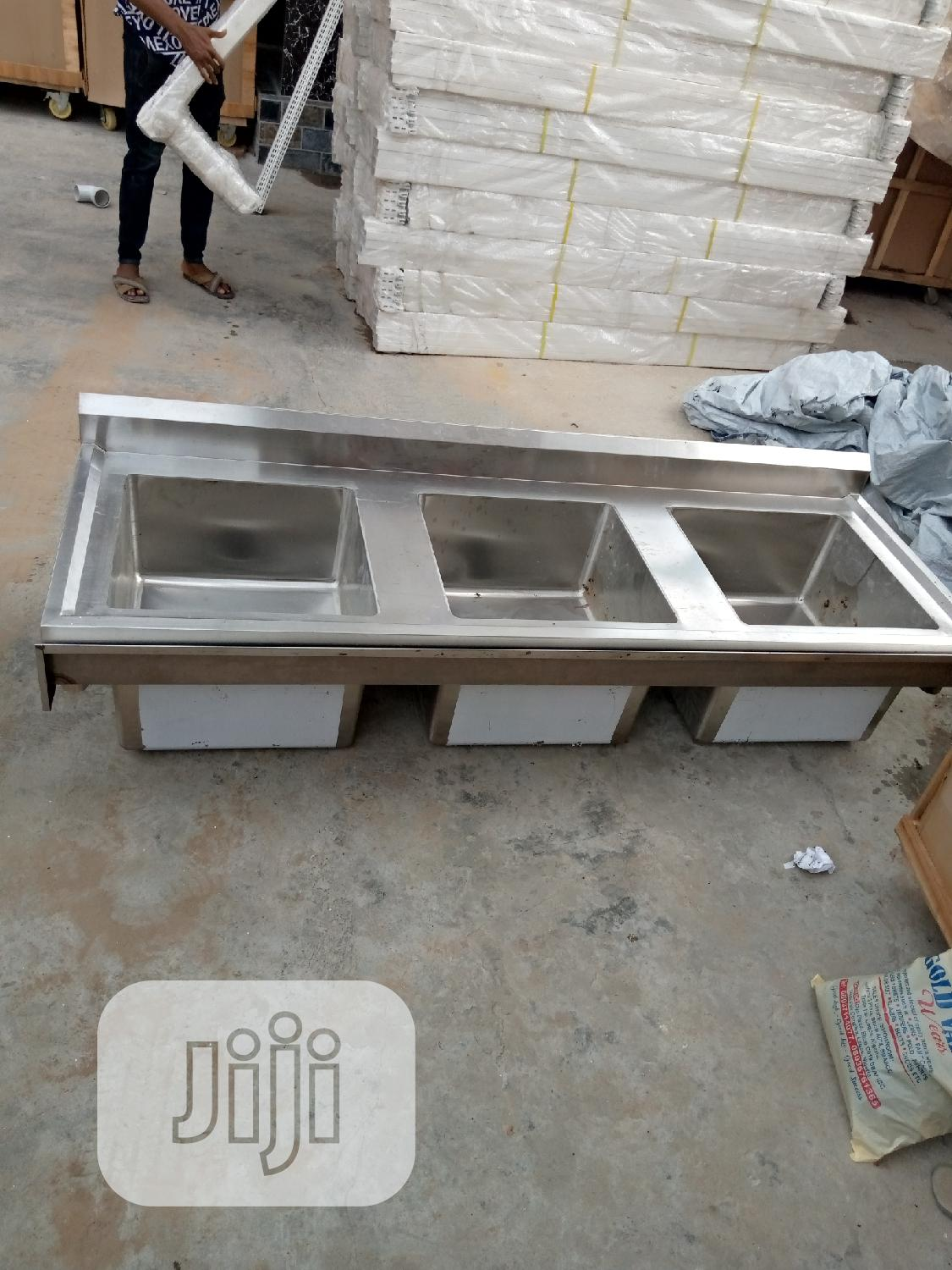 Triple Dowl Sink | Restaurant & Catering Equipment for sale in Ojo, Lagos State, Nigeria