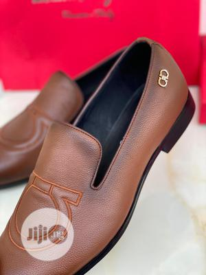 High Quality Ferragamo Brown Leather Loafers | Shoes for sale in Lagos State, Magodo