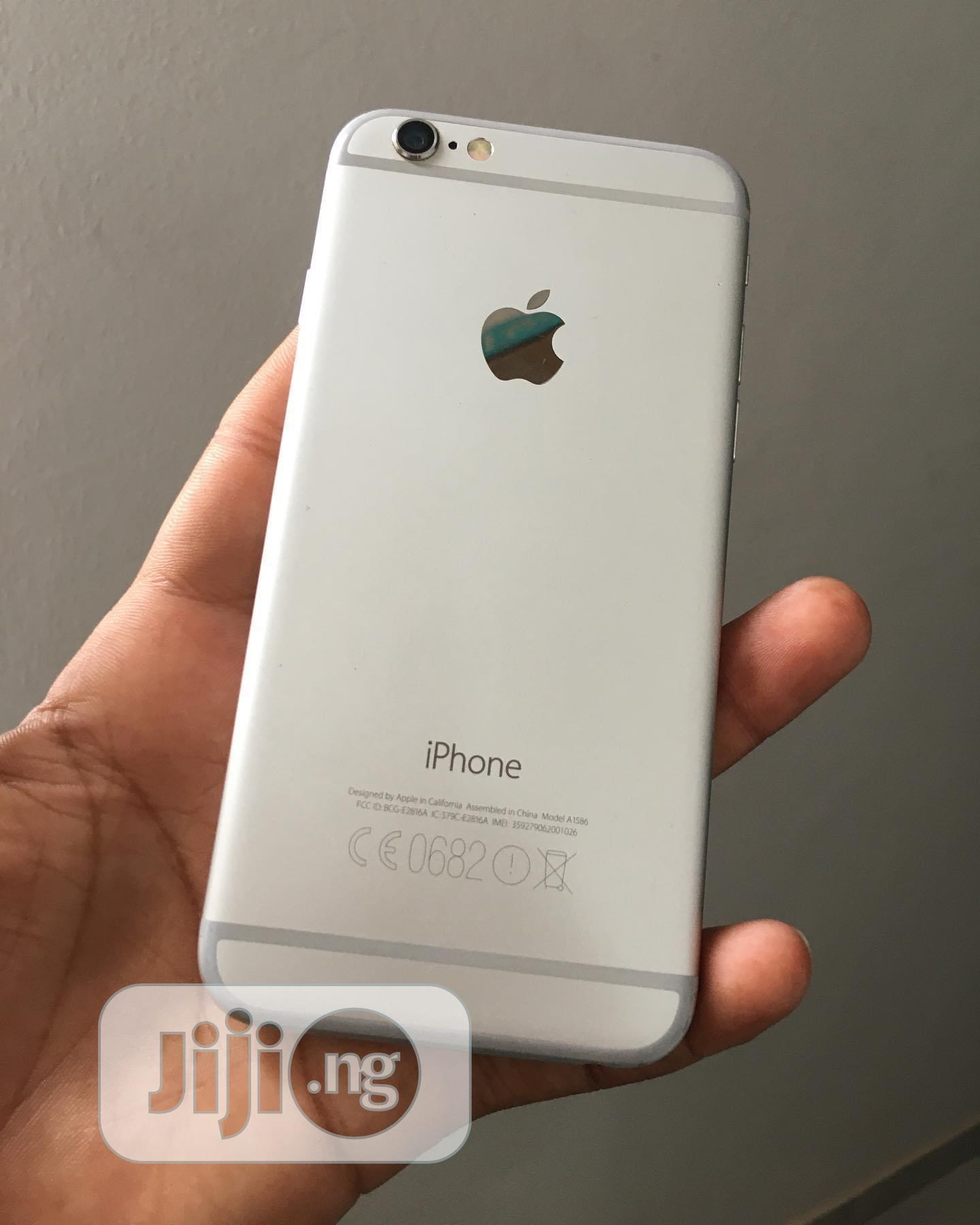 Apple iPhone 6 16 GB White   Mobile Phones for sale in Owerri, Imo State, Nigeria