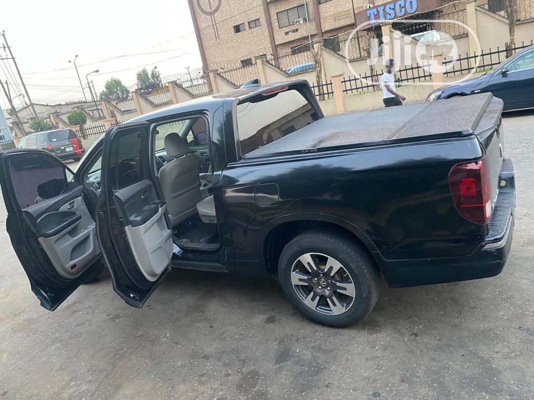 Honda Ridgeline 2017 Black   Cars for sale in Ikeja, Lagos State, Nigeria