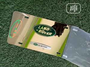 3dland Rover Logo On Chrome Stainless Steel License Plate   Vehicle Parts & Accessories for sale in Abuja (FCT) State, Gudu