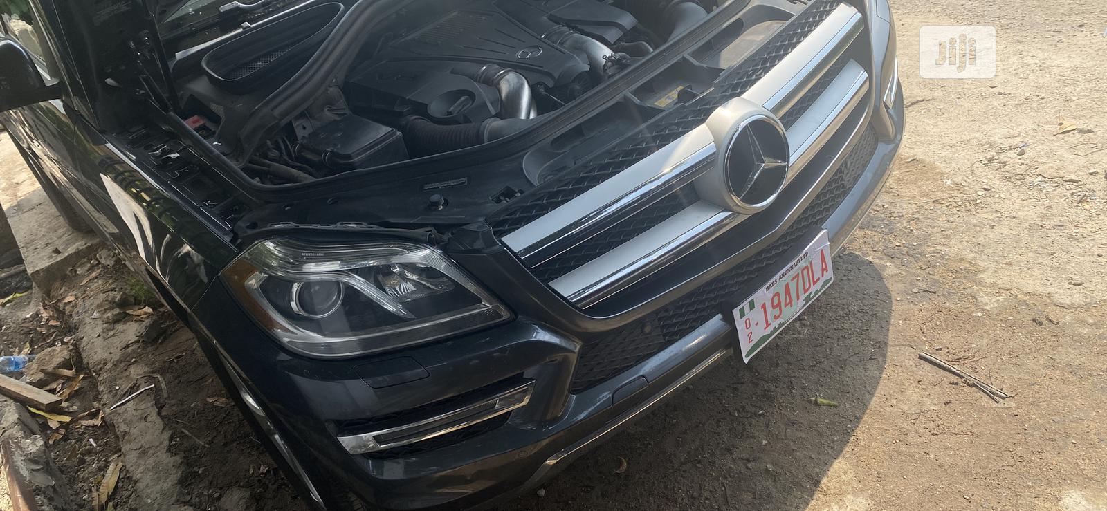 Mercedes-Benz GL Class 2013 GL 450 Gray | Cars for sale in Victoria Island, Lagos State, Nigeria
