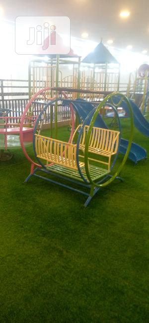 Quality Steel Fabricated Children Swings And Slides For Sale | Toys for sale in Imo State, Owerri