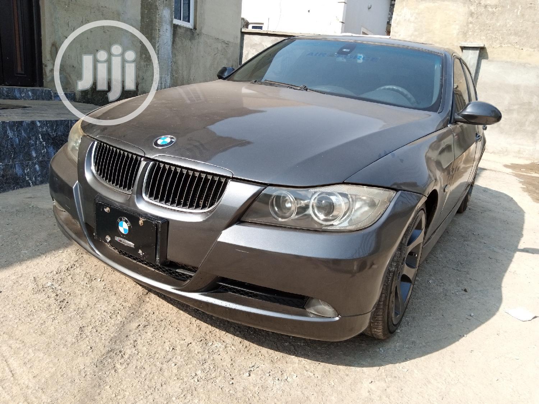BMW 330i 2007 Gray
