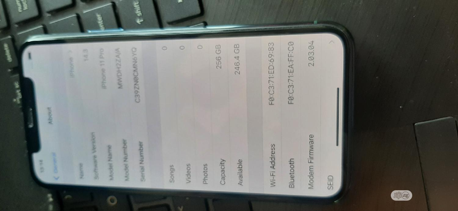 Apple iPhone 11 Pro 256 GB Green | Mobile Phones for sale in Ikeja, Lagos State, Nigeria