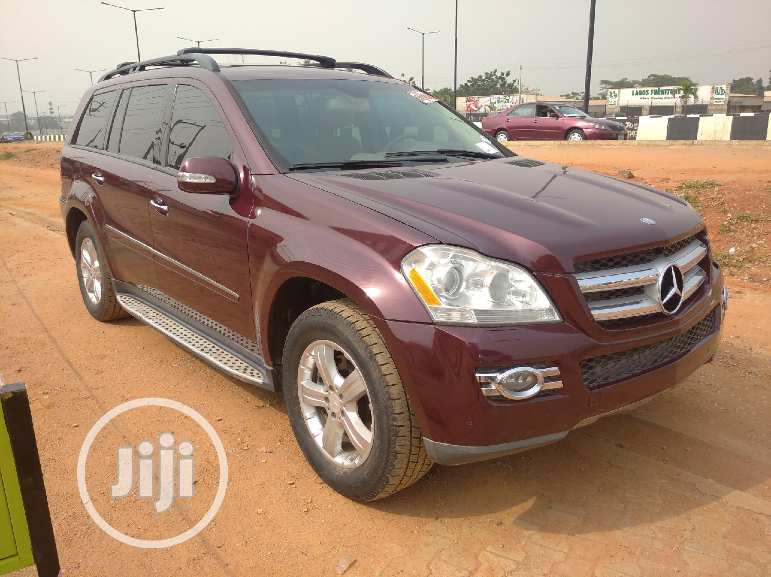 Mercedes-Benz GL Class 2008 GL 450 Red | Cars for sale in Isolo, Lagos State, Nigeria