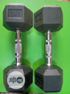 5kg Hex Dumbell | Sports Equipment for sale in Lagos State, Surulere