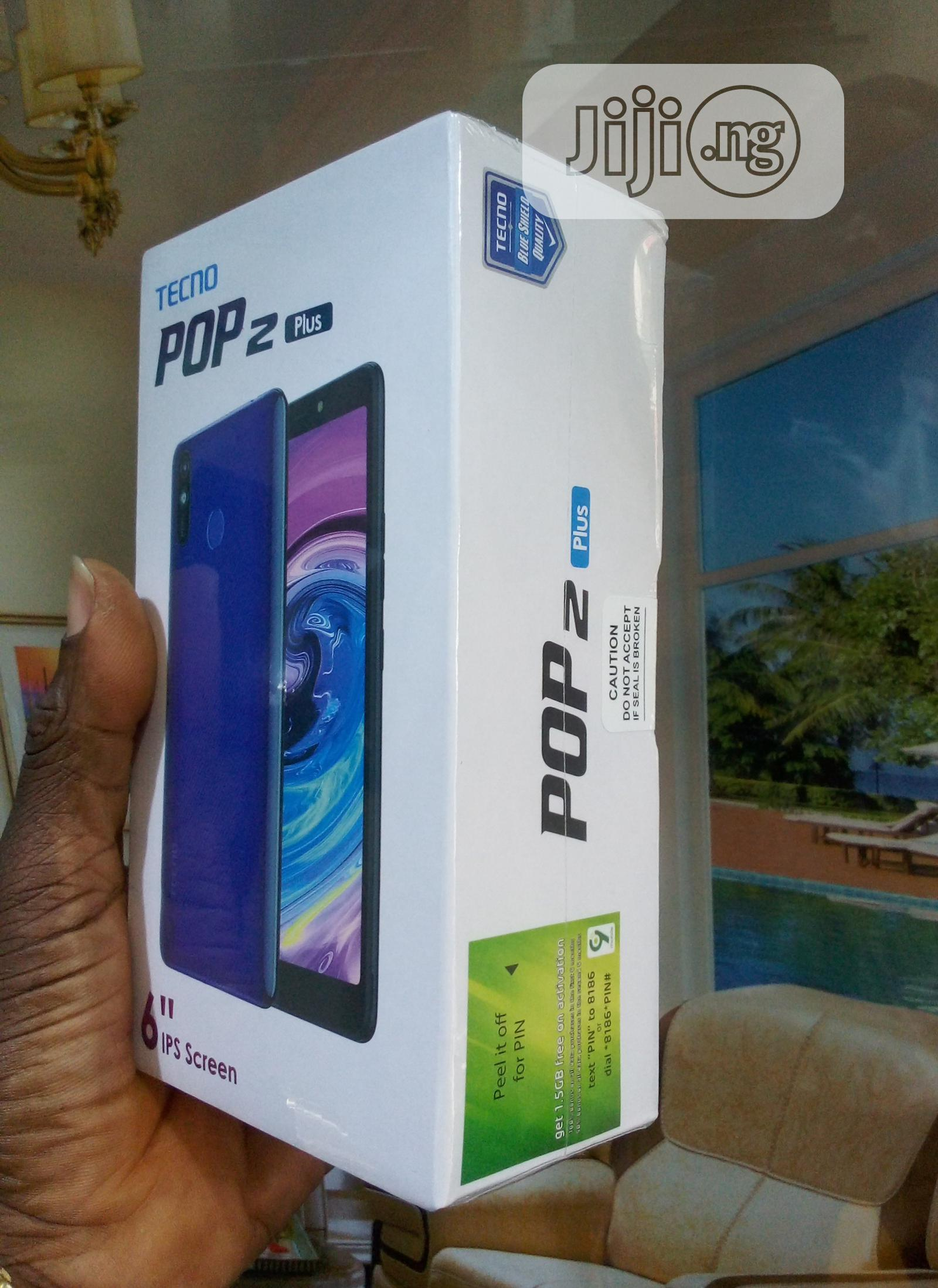 New Tecno Pop 2 Plus 16 GB Black | Mobile Phones for sale in Ikeja, Lagos State, Nigeria