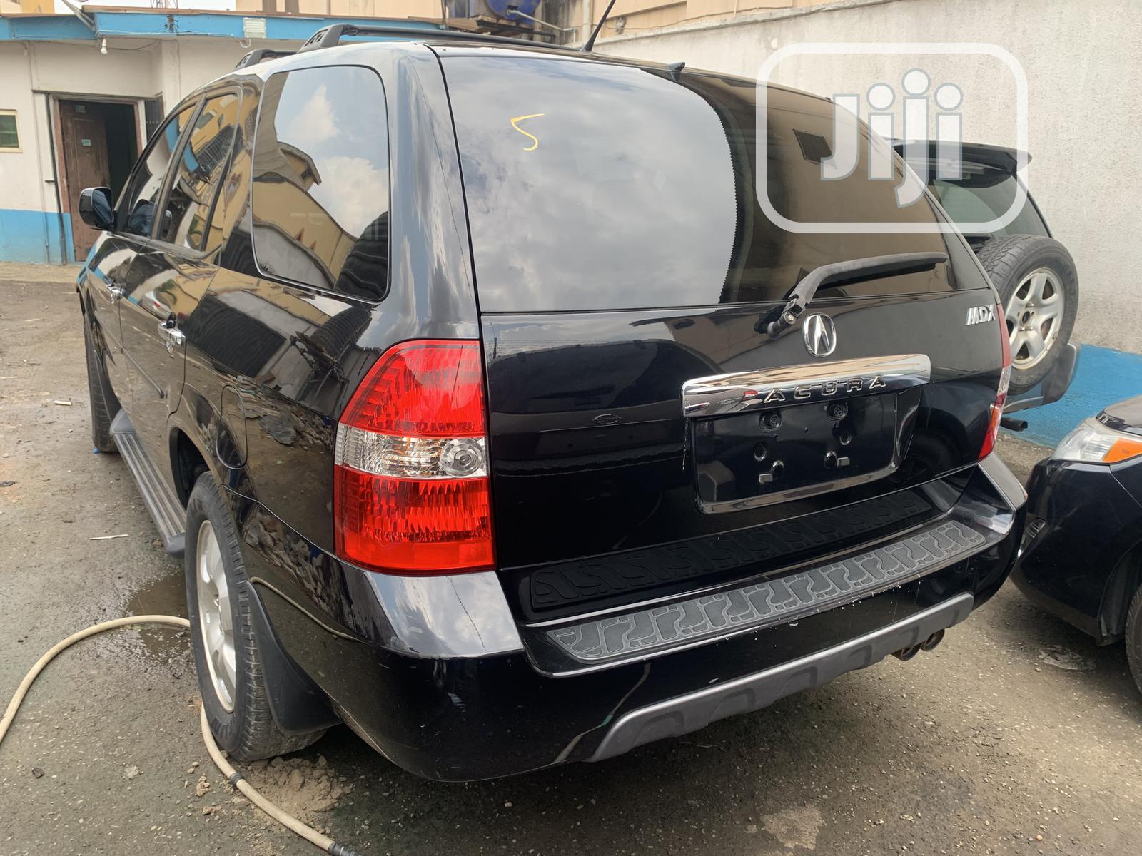 Acura MDX 2004 Sport Utility Black | Cars for sale in Ikeja, Lagos State, Nigeria