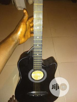 Super Clean Acoustic Guitar With Strap And Bag For Sale | Musical Instruments & Gear for sale in Ekiti State, Ado Ekiti