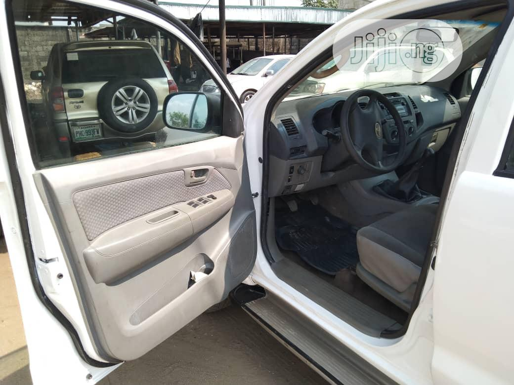 Toyota Hilux 2012 White | Cars for sale in Port-Harcourt, Rivers State, Nigeria