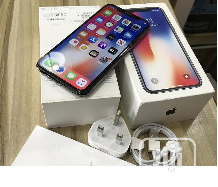 New Apple iPhone X 64 GB Black | Mobile Phones for sale in Alimosho, Lagos State, Nigeria