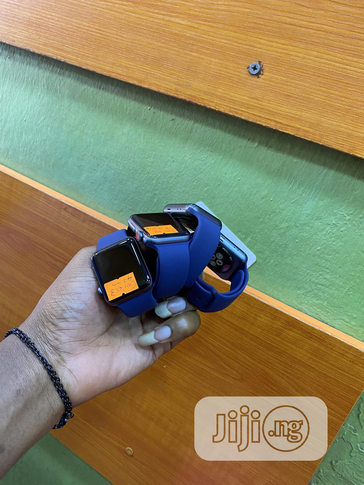 Iwatch Series3 44mm | Smart Watches & Trackers for sale in Ikeja, Lagos State, Nigeria