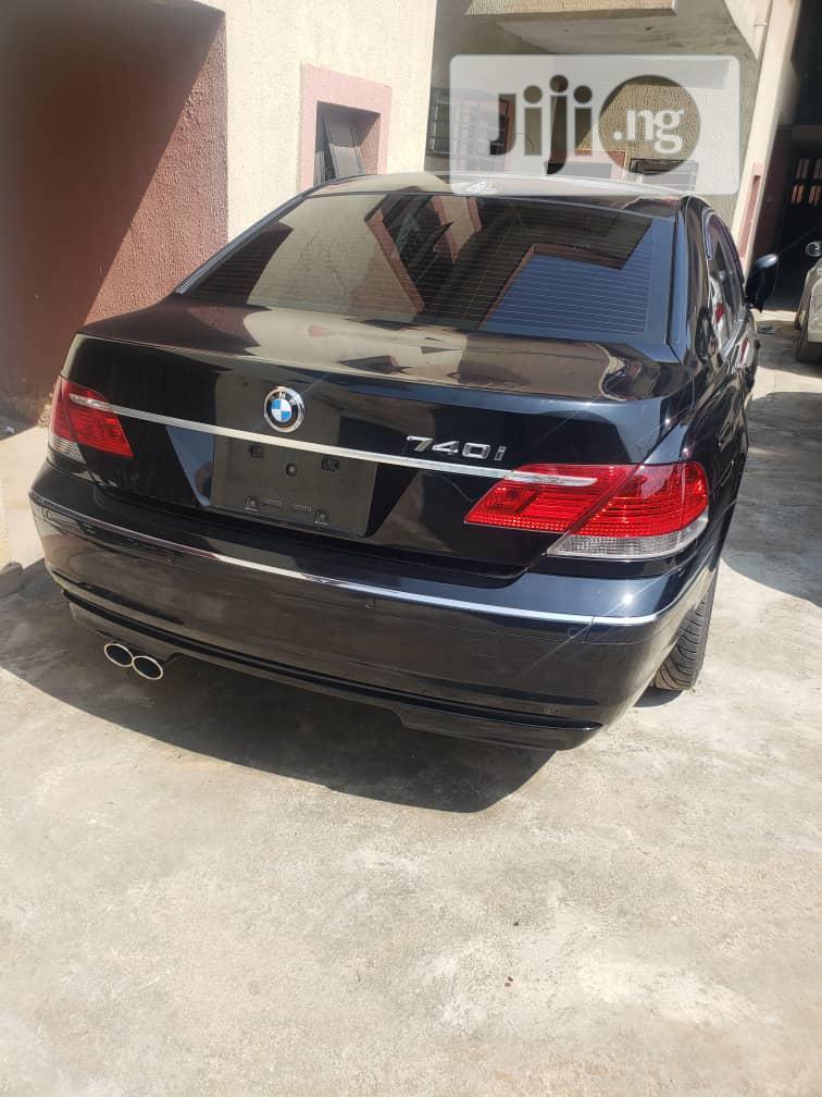 Archive: BMW 7 Series 2008 Black