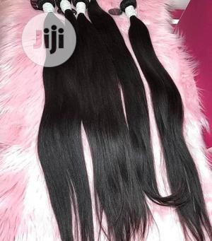 Straight Human Hair Bundle and Closure   Hair Beauty for sale in Lagos State, Ikorodu