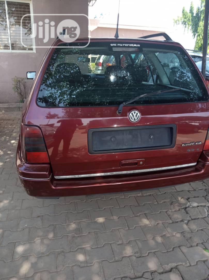 Archive: Volkswagen Golf 1998 Cabriolet Red