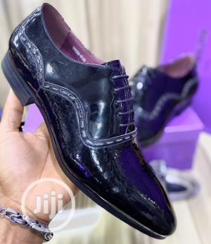 High Quality John Richmond Black Leather Loafers | Shoes for sale in Lagos State, Magodo