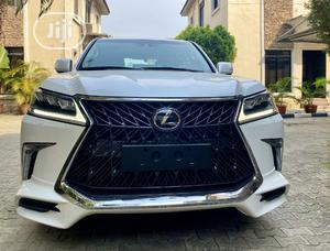 Lexus LX 2019 570 Three-Row White | Cars for sale in Lagos State, Lekki