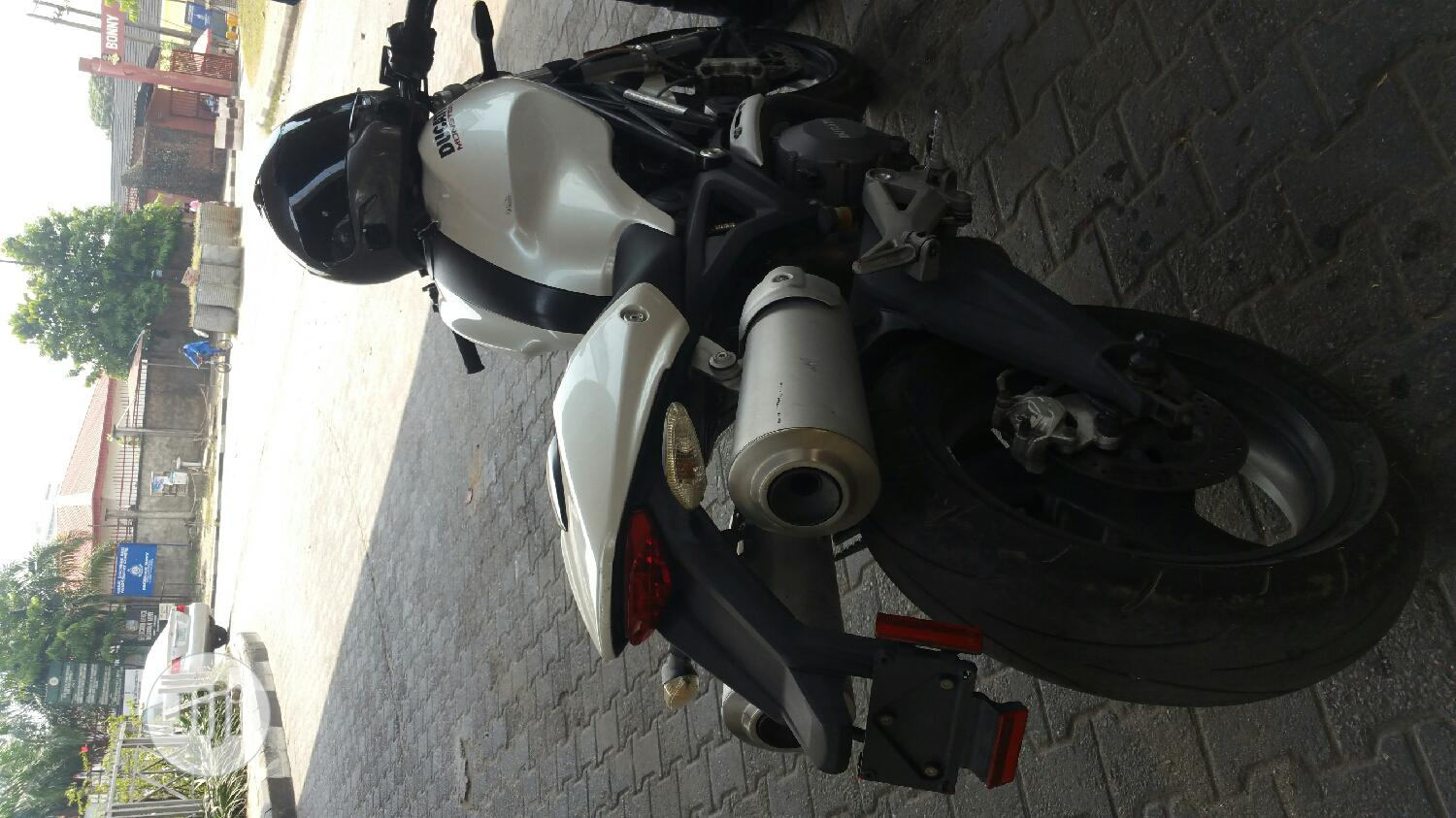 Ducati Sport Touring 2018 White   Motorcycles & Scooters for sale in Ojo, Lagos State, Nigeria