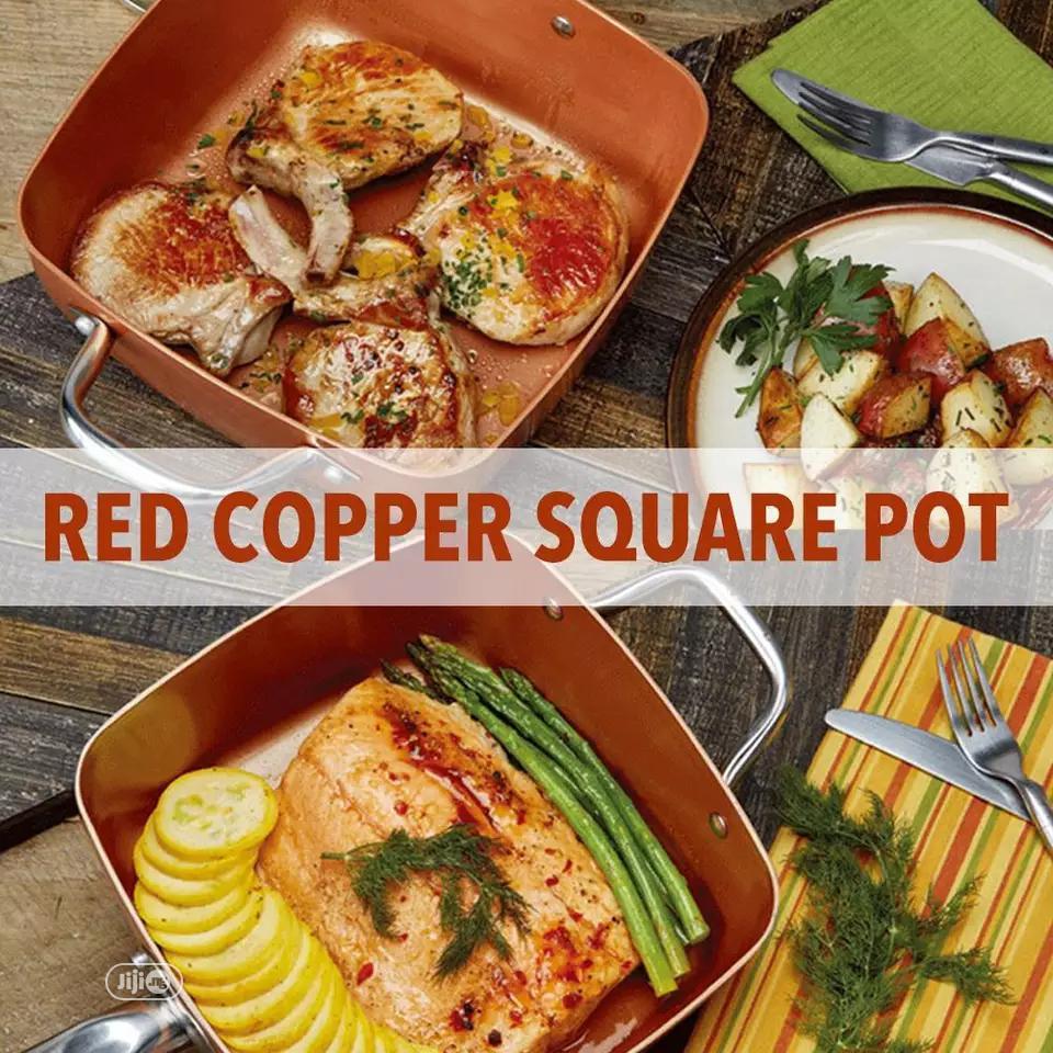 Red Copper Pan In Ojo Kitchen Appliances Beckyrich Store Jiji Ng