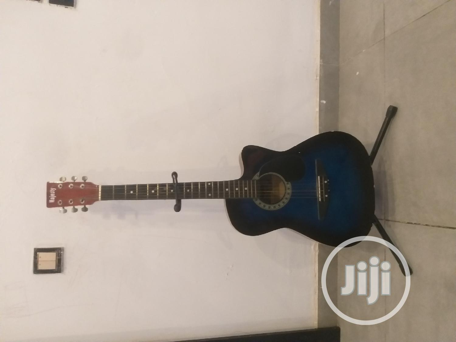 Archive: Acoustic Guitar With Free Stand