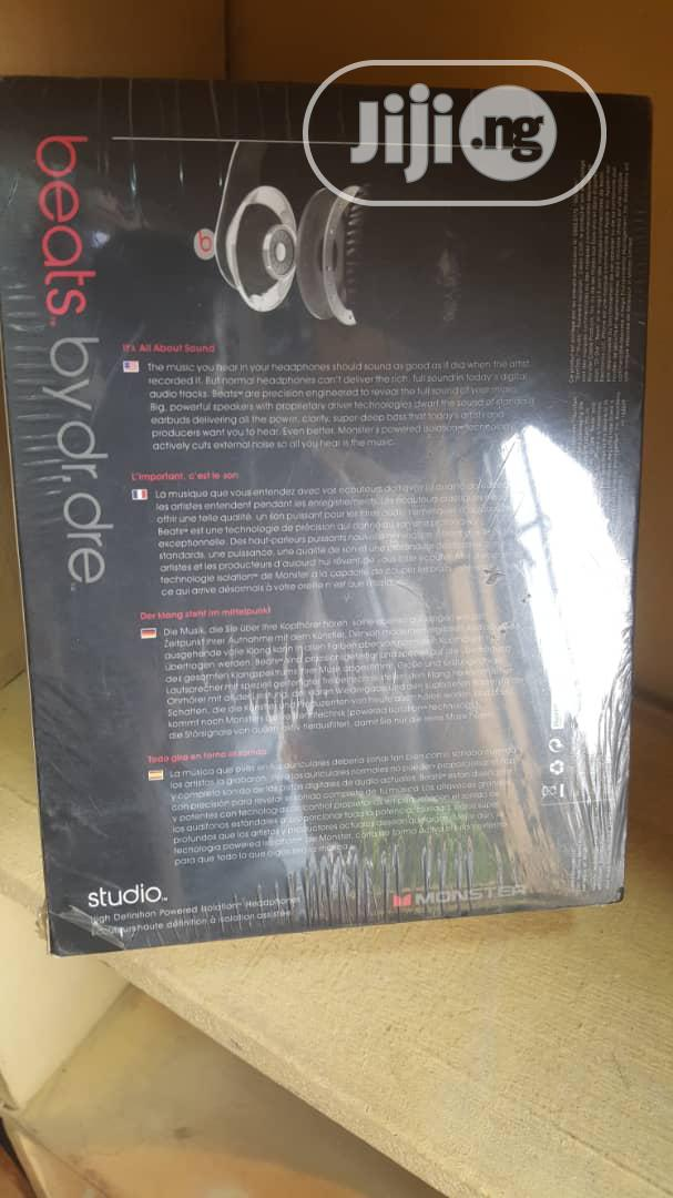 Dr '. Dre Studio Headphone   Accessories for Mobile Phones & Tablets for sale in Ikeja, Lagos State, Nigeria