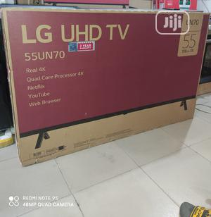 "Original Korea LG 55""Inch Real 4K UHD Smart Webos ,Satellite | TV & DVD Equipment for sale in Lagos State, Ojo"