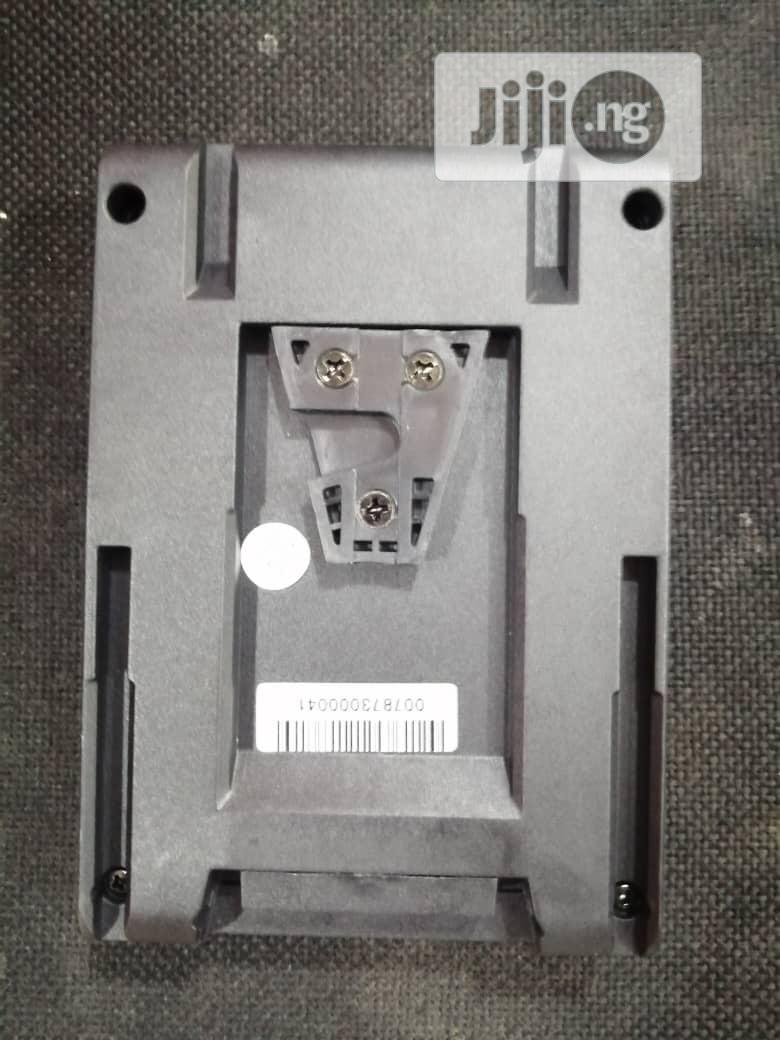 V- Mount Battery Plate Adapter For Sony NP-F Batteries   Accessories & Supplies for Electronics for sale in Ikeja, Lagos State, Nigeria