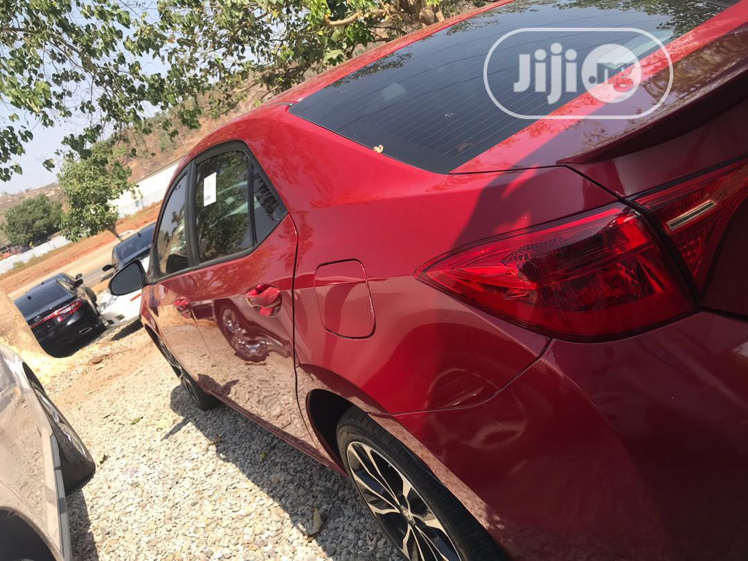 Toyota Corolla 2017 Red | Cars for sale in Gwarinpa, Abuja (FCT) State, Nigeria