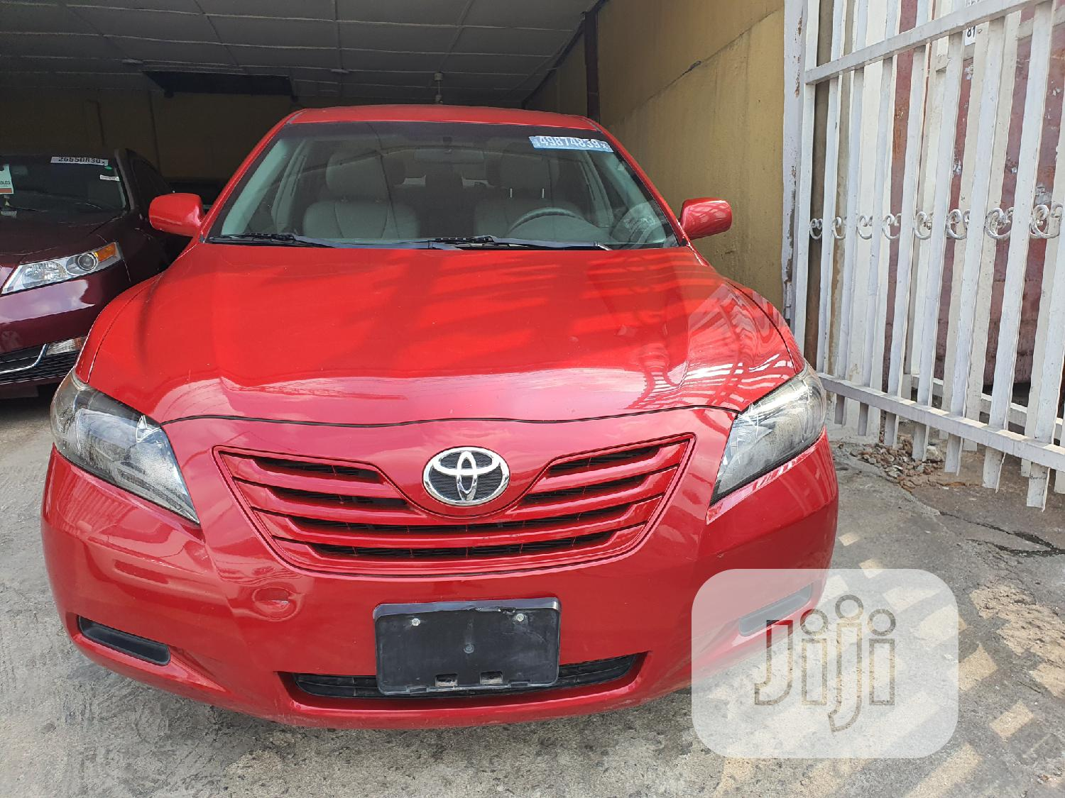 Toyota Camry 2009 Red