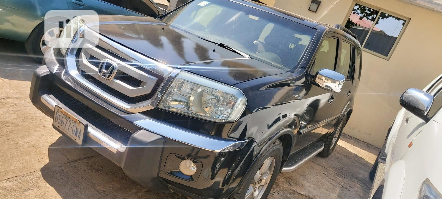 Honda Pilot 2008 Black | Cars for sale in Central Business Dis, Abuja (FCT) State, Nigeria