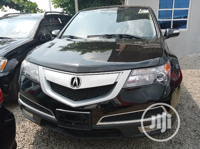 Acura MDX 2010 Black