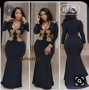 Quality Long Dinner Gown in Black   Clothing for sale in Abuja (FCT) State, Bwari