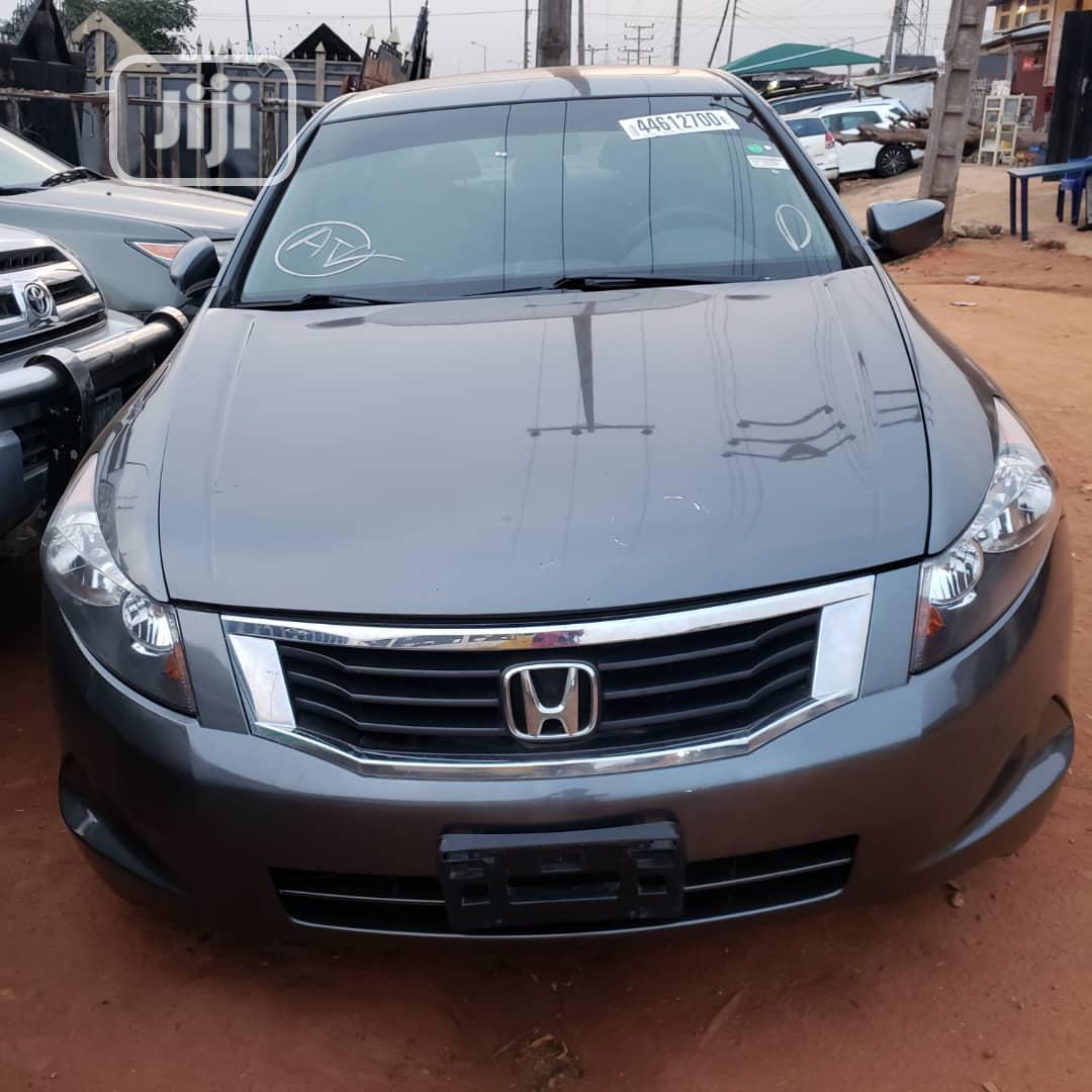 Honda Accord 2008 Gray