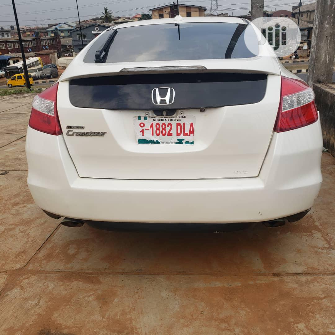 Honda Accord CrossTour 2010 EX-L White | Cars for sale in Ikorodu, Lagos State, Nigeria