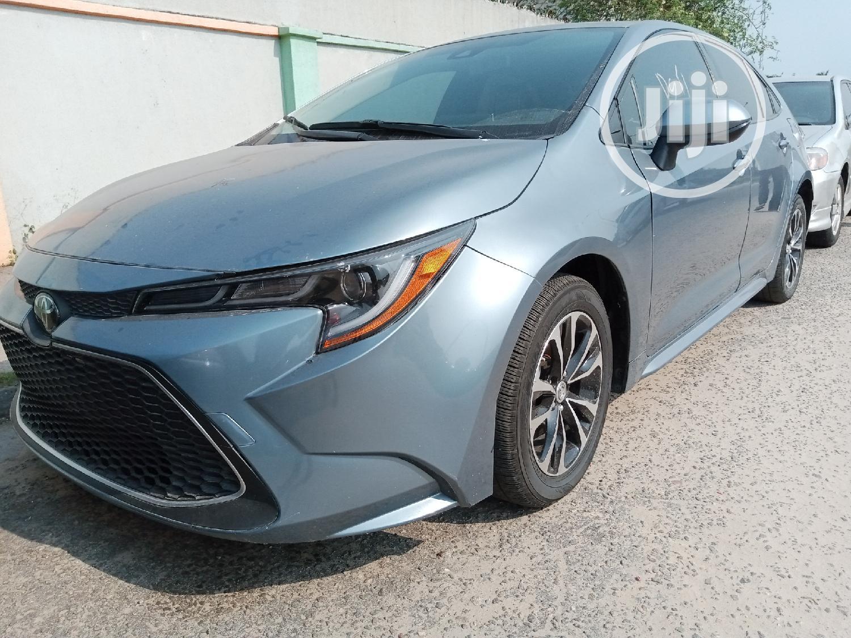 Toyota Corolla 2019 LE (1.8L 4cyl 2A) Gray