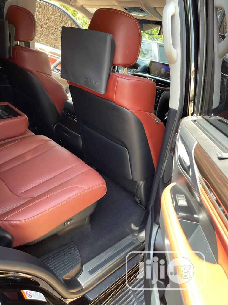New Lexus LX 2019 570 Three-Row Black   Cars for sale in Maitama, Abuja (FCT) State, Nigeria