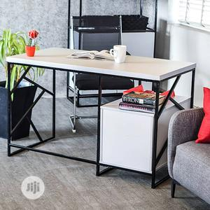 Office Desk With Shelf | Furniture for sale in Lagos State, Ogba