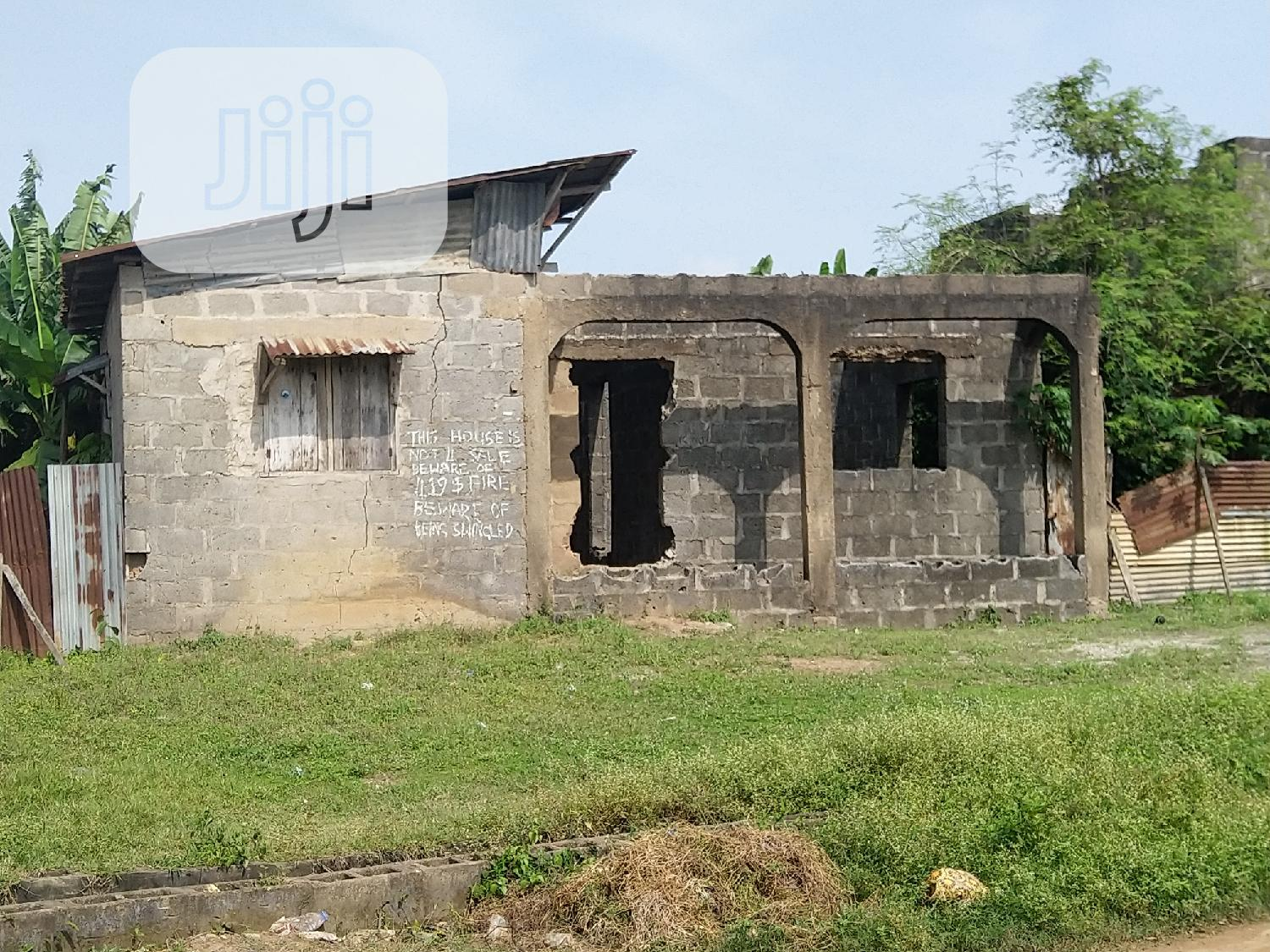 Uncompleted Bungalow For Sale With Receipt and Survey