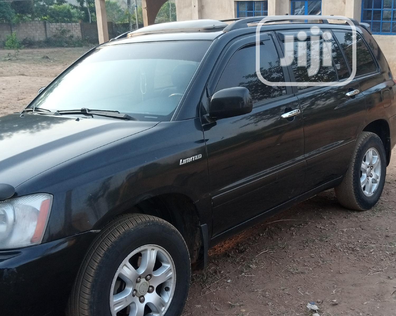 Toyota Highlander 2003 Black   Cars for sale in Akinyele, Oyo State, Nigeria