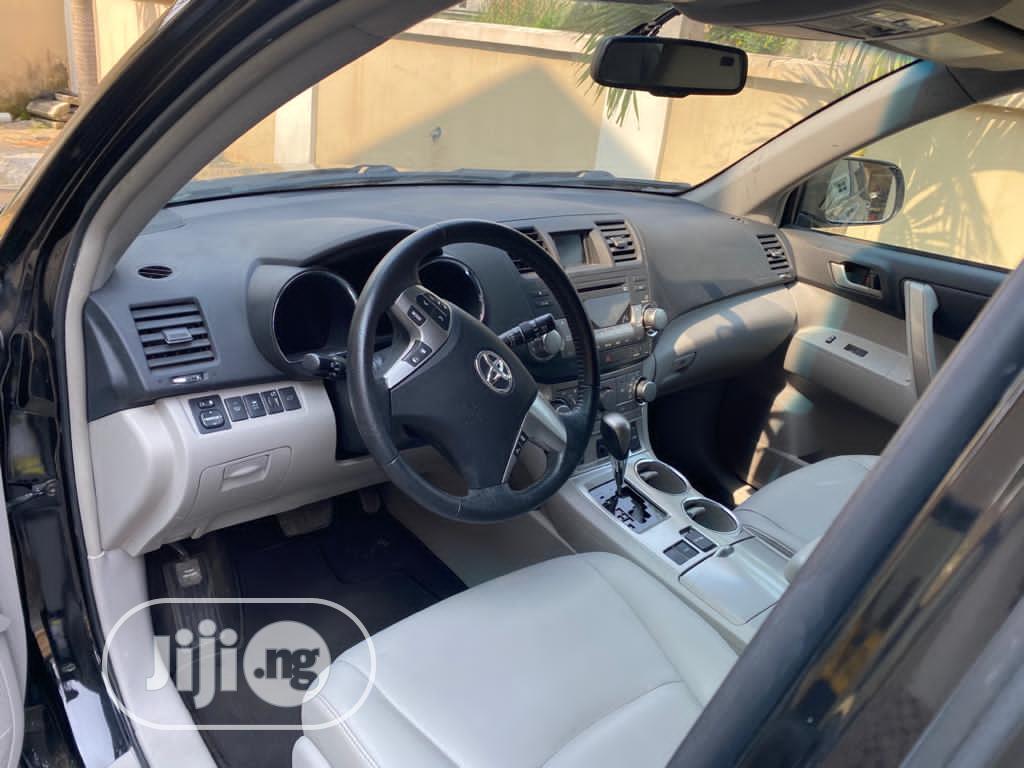 Toyota Highlander 2012 Limited Black   Cars for sale in Lekki, Lagos State, Nigeria