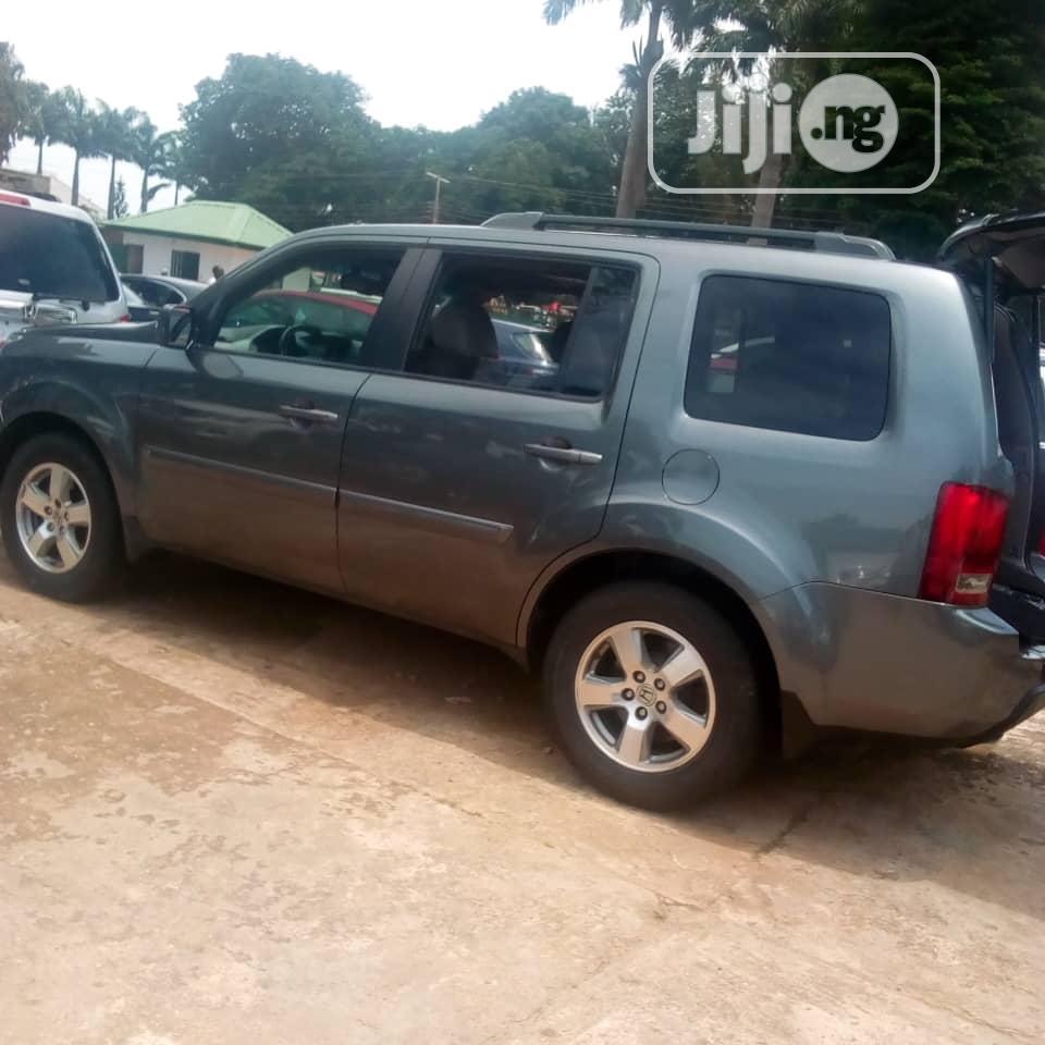 Honda Pilot 2011 EX 4dr SUV (3.5L 6cyl 5A) Gray | Cars for sale in Kaduna / Kaduna State, Kaduna State, Nigeria