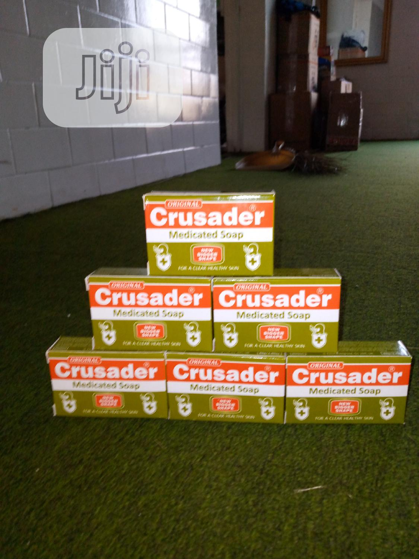 Crusader Medicated Soap 6 Pcs