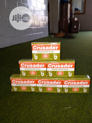 Crusader Medicated Soap 6 Pcs | Bath & Body for sale in Lagos State, Surulere