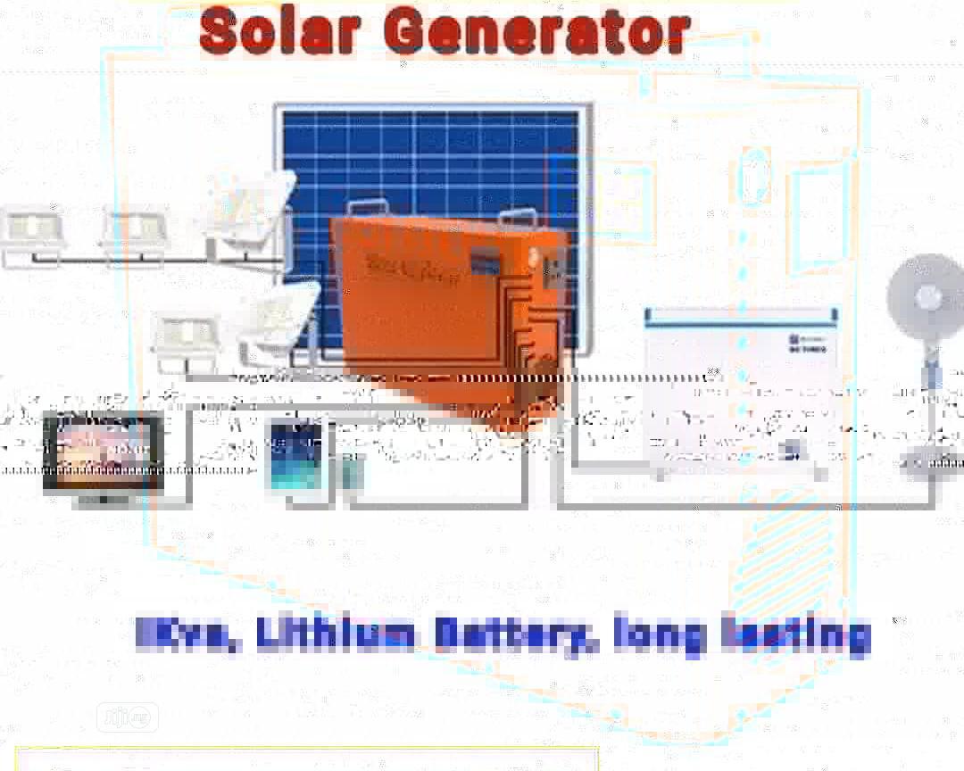 Solar Generator 1 Kva | Solar Energy for sale in Ojo, Lagos State, Nigeria