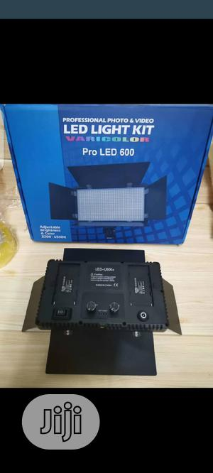 Rechargeable Pro Led 600 Kit Light | Accessories & Supplies for Electronics for sale in Lagos State, Apapa
