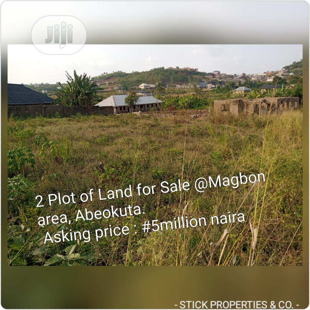 2 Plot of Land for Sale in Well Developed Area Magbon